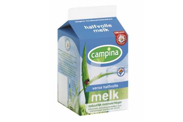 Halve liter melk
